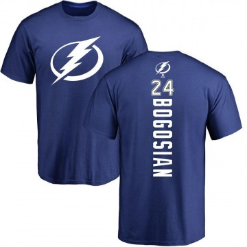 Youth Zach Bogosian Tampa Bay Lightning Backer T-Shirt - Royal